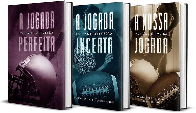 A Jogada Perfeita + A Jogada Incerta + A Nossa Jogada (Livro 01, 02 e 03 da Série Touchdown)