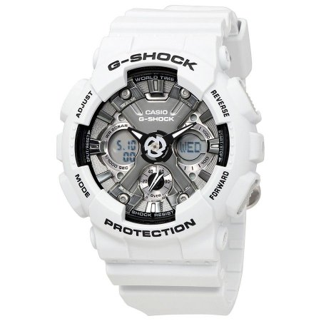 e7f7ae0e8c2 Relógio Masculino de Resina Branco CASIO G-Shock - JOY TO THE WORLD