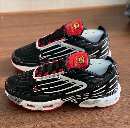 Tênis Nike Air Max Tn Plus 3 - Preto/Vermelho