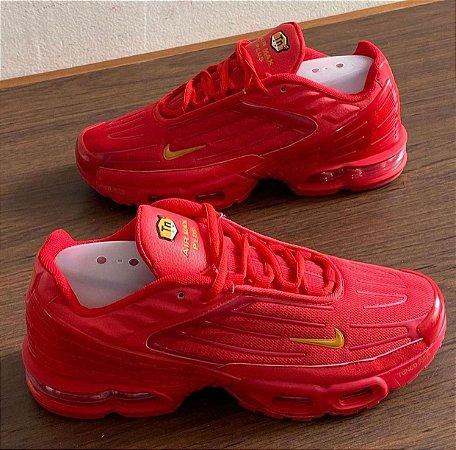Tênis Nike Air Max Tn Plus 3 - Vermelho