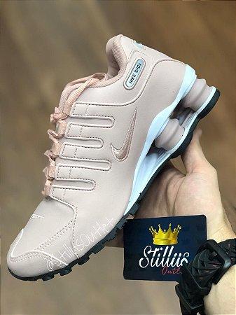 89e56e53828 Tênis Nike Shox - Rosa Branco - Stillus Outlet