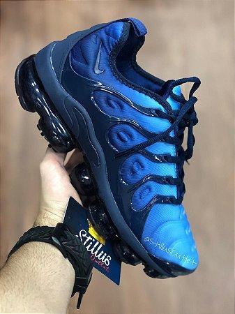 Tênis Nike Air Vapormax Plus - Azul escuro