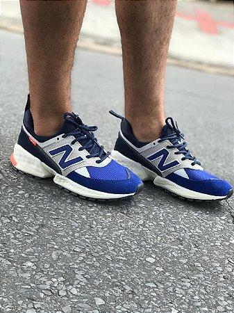 Tênis Nb - Azul / Branco