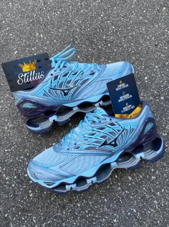 Tênis Mizuno Wave Prophecy 8 - Azul