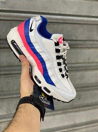 Tênis Nike Air max  95 -Branco/Azul