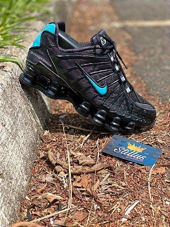 Tênis Nike Shox TL - Preto/Azul