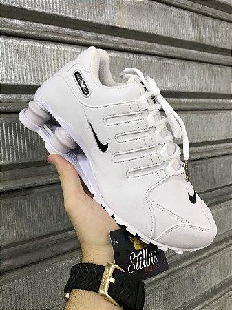 Tênis Nike Shox - Branco/preto