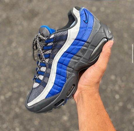 Tênis Nike Air max 95 - Cinza/Azul
