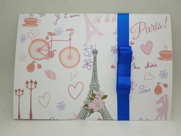 Convite debutante Paris