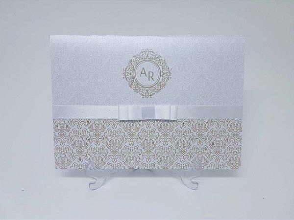 Convite de casamento classico aspen
