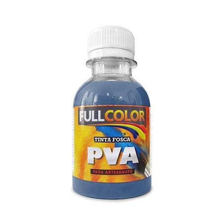 Tinta PVA fullcolor fosco 100 ml azul country