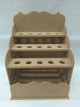 Caixa prateleira porta tempero - MDF