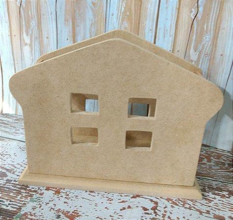 Porta guardanapo casinha