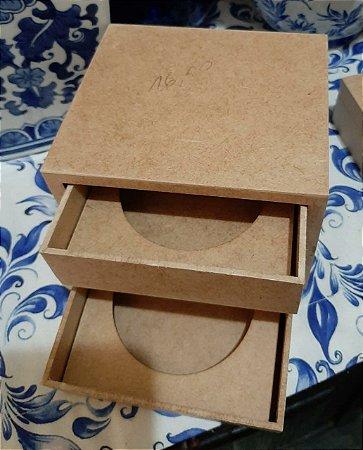 Caixa gaveteiro com encaixe para sabonete 2