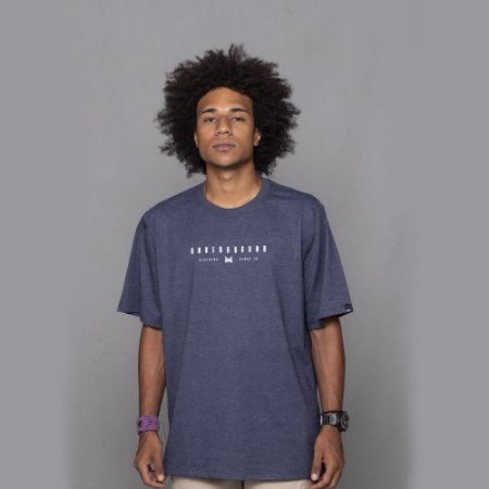 Camiseta OWL Lines - Azul Dark
