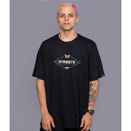 Camiseta OWL Street Knowledge - Preto