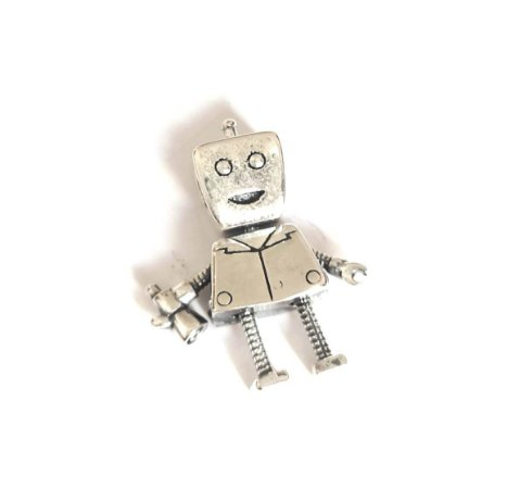 BERLOQUE DE PRATA ROBOT