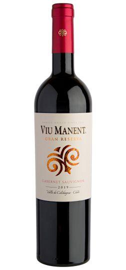 Vinho Tinto Viu Manent Gran Reserva Cabernet Sauvignon 2019 750mL