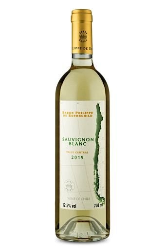 Vinho Branco Baron Philippe de Rothschild Sauvignon Blanc Reserva 2019 750mL