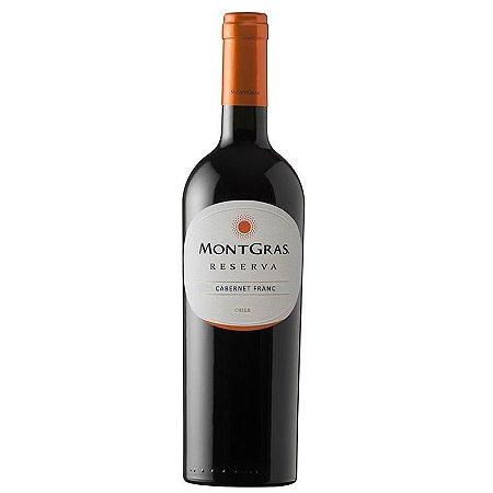 Vinho Tinto Cabernet Franc Reserva 2015 Montgras 750mL