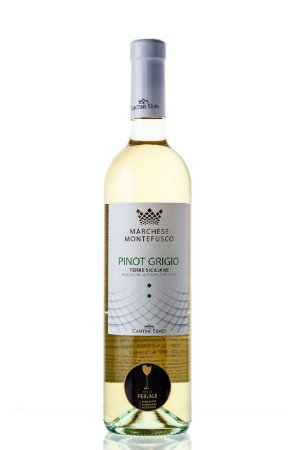 Marchese Montefusco Pinot Grigio Terre Siciliane IGP 750mL