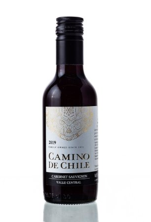 Vinho Tinto Camino de Chile Cabernet Sauvignon 2019 187,5mL