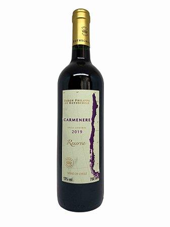 Vinho Tinto Baron Philippe de Rothschild Reserva Carmenere 2019 750ml
