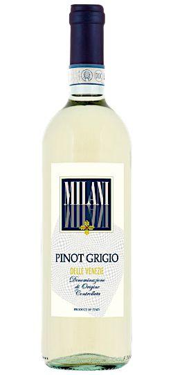 Vinho Branco Milani Pinot Grigio Veneto IGT 750ml