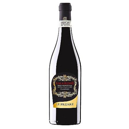 Vinho Tinto Amarone Della Valpolicella Classico Le Preare 750mL