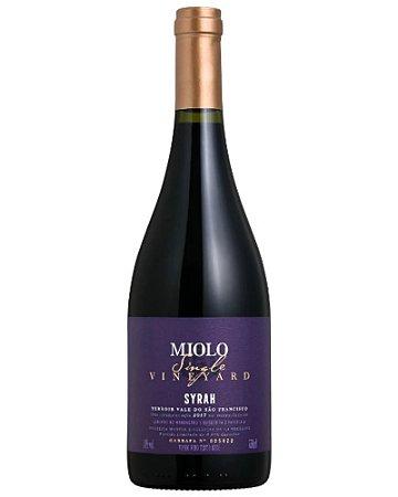 Vinho Tinto Miolo Single Vineyard Syrah 750mL