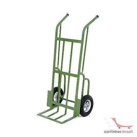 Carro armazém 230 kg pneumático 130/4