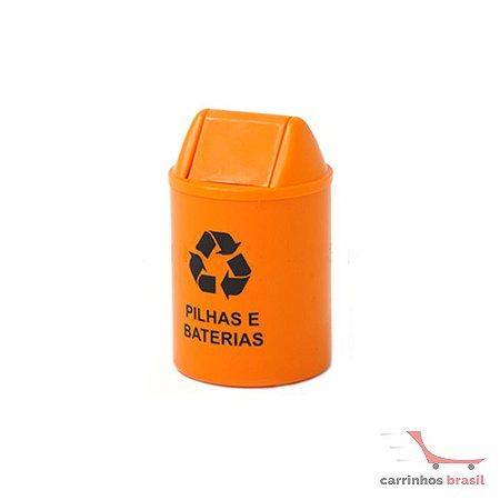 Lixeira coletora 14 litros Bateria   CE24LJ