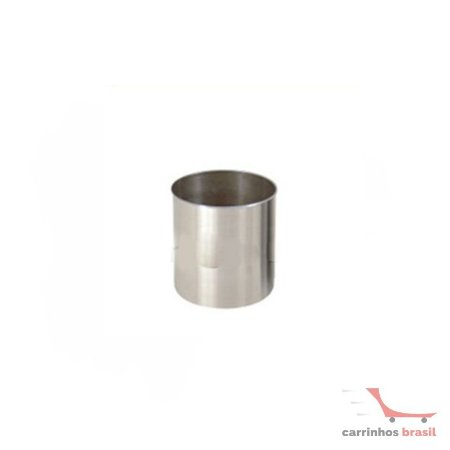 Lixeira em aluminio 13 lts  2030