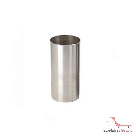 Lixeira em aluminio 25 lts  2031