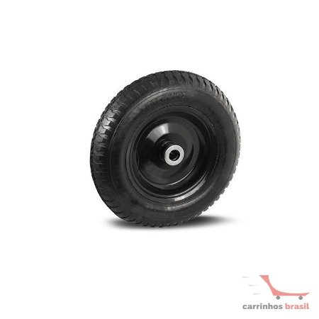 """Rodinha pneumática  4.00-8 8 lonas eixo 1"""""""