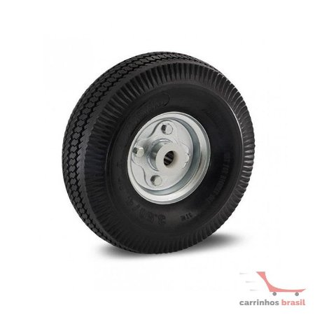 Rodinha pneumática 3.50-4 eixo 7/8 Imsa