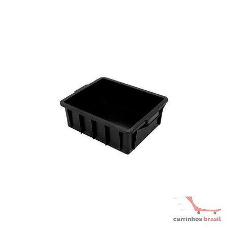 Caixa fechada 15,5 lts cor preta CX1