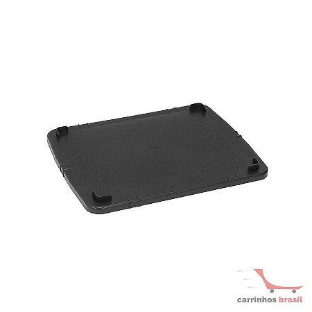 Tampa p/ caixa fechada 15,5 lts cor preta CX1T