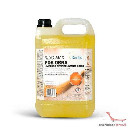 Limpador PÓS OBRA KLDA5L  5 litros