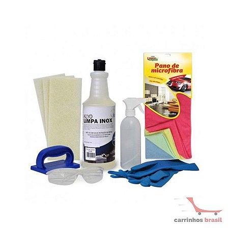 Kit limpeza inox KCAL01