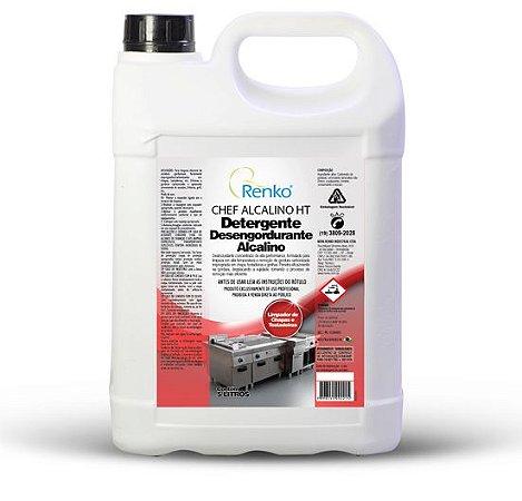 Detergente Chef Alcalino HT CHHT5L  5 litros