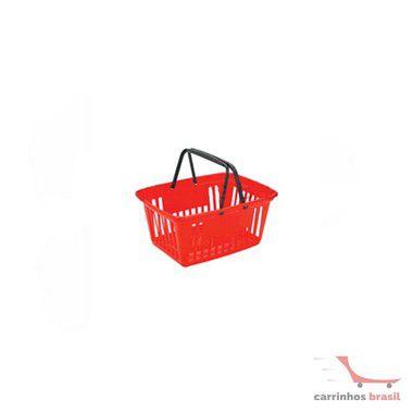 Cesta compra plástica 20 litros