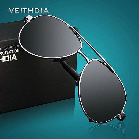 Óculos de sol masculino Veithdia original - Aviador (Pilot)