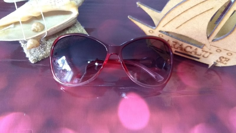 Óculos moda praia - proteção solar UV 400 - lentes degrade