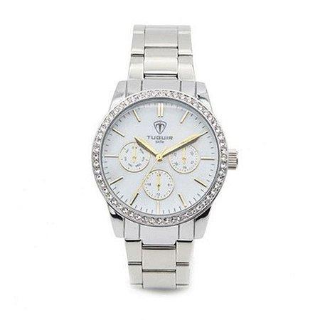 Relógio Tuguir® White Shine Feminino 5028
