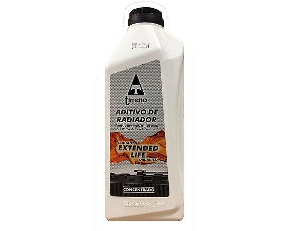 Aditivo radiador concentrado Tirreno Extended Life - Etileno Glicol - Laranja - XLC G411381B1