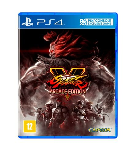 Street Fighter V - Arcade Edition - PS4