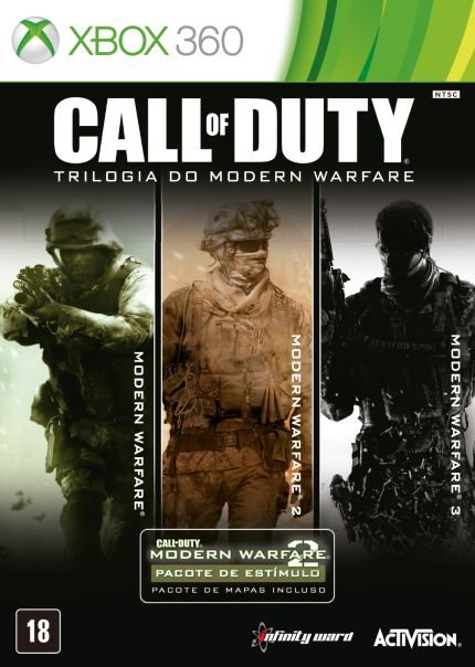 Call Of Duty - Trilogia do Modern Warefare - X360