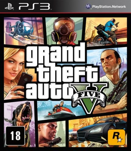 GTA - Grand Theft Auto V - PS3