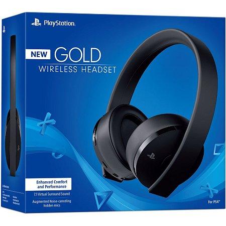 Headset Sony New Gold Wireless